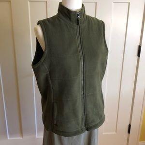 Land's End fleece vest size M/P